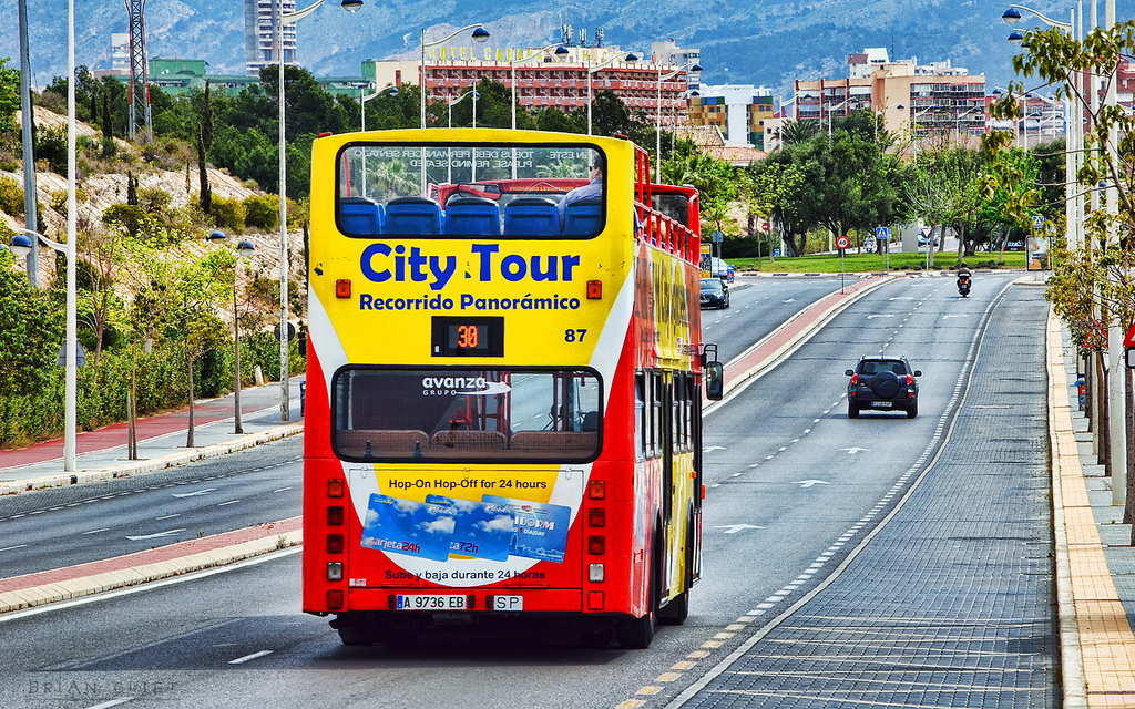 Benidorm City Tour Bus
