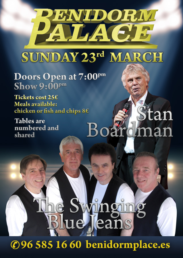 the-swinging-blue-jeans-a-stan-boardman-live-in-concert-benidorm-23rd-march-2014