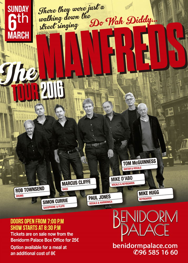 Benidorm Palace The Manfreds