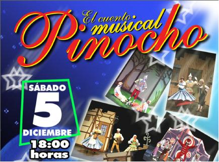 Benidorm Palace proudly presents Pinocchio