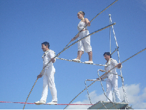 Tightrope artists